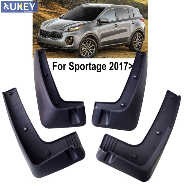 Without Running Board Mudflaps Mud Flap Flaps Splash Guard Per For Kia Sportage 2017 2019
