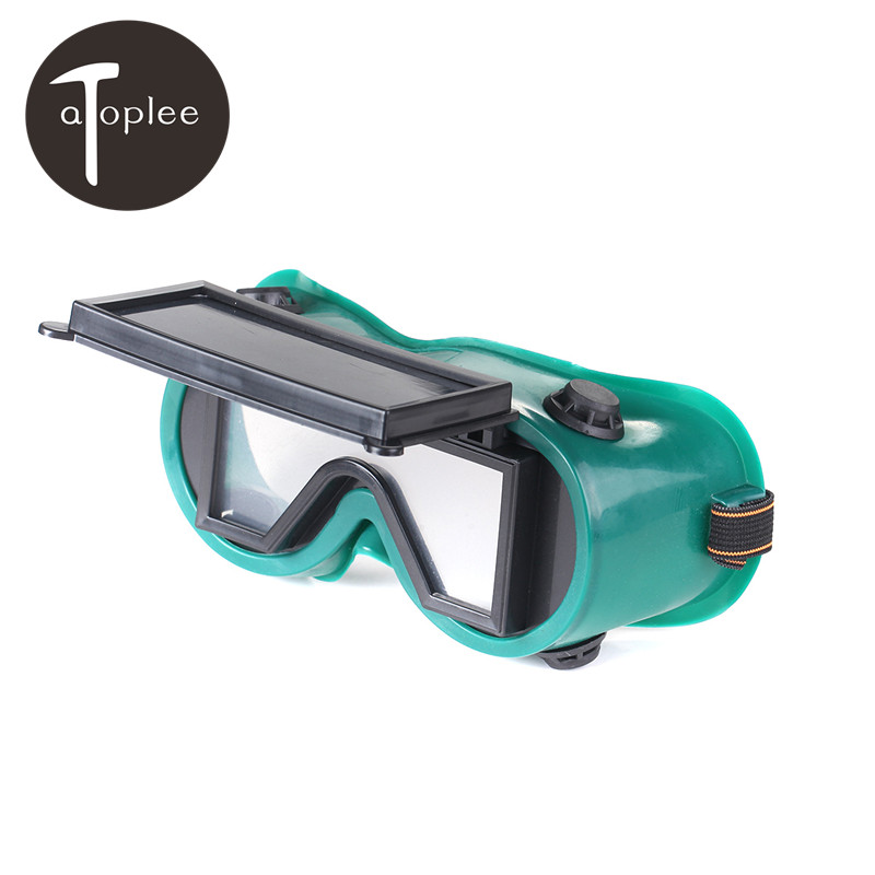 Atoplee 1pcs Welding Cutting Welders Safety Glasses Square Flip Up 2 Dark Green Lenses Goggles Helmet Welder EyewearAtoplee 1pcs Welding Cutting Welders Safety Glasses Square Flip Up 2 Dark Green Lenses Goggles Helmet Welder Eyewear