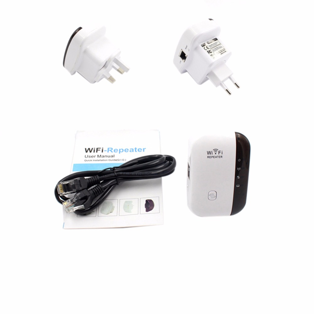 300Mbps 802.11 Wifi Repeater Wireless AP Relay Range Signal Extender Booster Small Bun Network Router WiFi Amplifier Strengthen