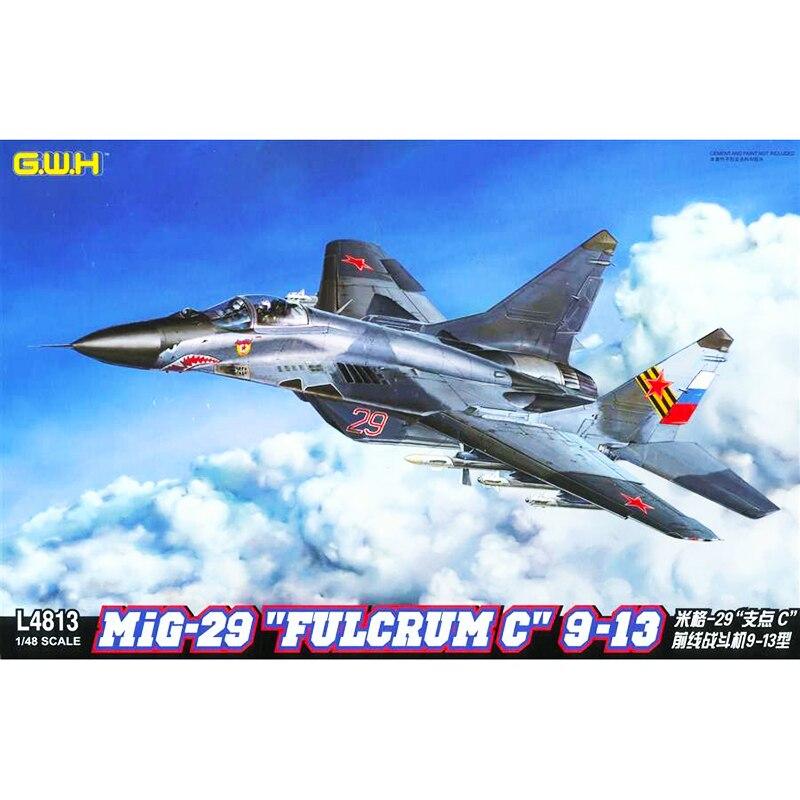 """1/48 G.W.H L4813 MiG 29 """"FULCRUM C"""" 9 13 modell hobby-in Modellbau-Kits aus Spielzeug und Hobbys bei  Gruppe 1"""