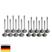 AP02 8 Intake & 8 Exhaust Valve Kit For OPEL ASTRA F G H VECTRA A B Zafira Calibra Frontera Omega,For Saab 900 9000 X18XE X20XEV