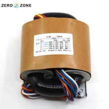 100VA (115V-230V) dual 28V + dual 15V / R type transformer
