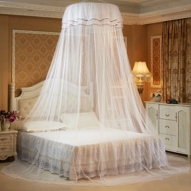 Lace Curtain Ceiling Net Mosquito Net for Double Bed Home Bed Canopy for Adults Mosquito Nets & Lace Curtain Ceiling Net Mosquito Net for Double Bed Home Bed ...