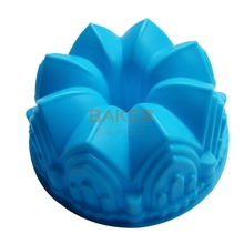 Large crown silicone cake mold microwave baking tools novelty cake molds bread moulds pastry mold SCM-003-4