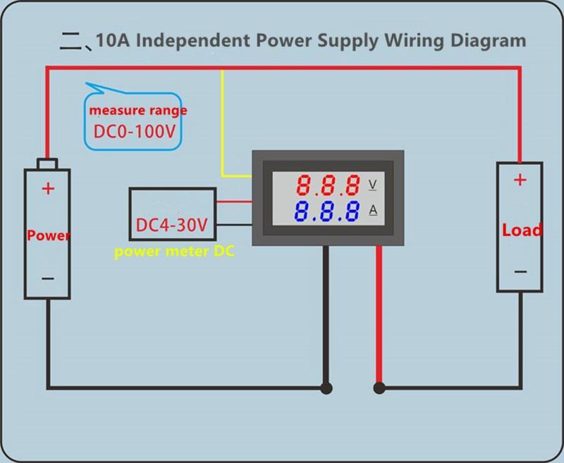 HTB1J5dCN9zqK1RjSZFpq6ykSXXa7 DC 0-100V 10A 50A 100A Electronic Digital Voltmeter Ammeter 0.56'' LED Display Voltage Regulator Volt AMP Current Meter Tester