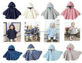 Осень зима британский стиль младенцы плащ флис червяк два односторонний 4 цвета младенцы мыс Hoddies младенческой младенцы верхняя одежда 4 - 24 M