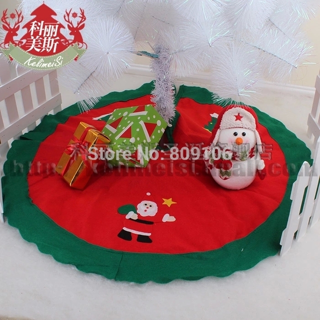wholesale free shippingchristmas tree decoration 80cm upscale christmas tree skirt luxury fabric - Luxury Christmas Decorations Wholesale