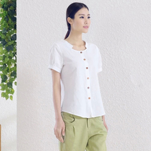 Body Rushed Regular Linen Roupas Femininas Women 2015 Summer New Short-sleeved T-shirt Casual Straight Solid Color Cotton Shirt женская футболка для беременных 2015 t roupas femininas