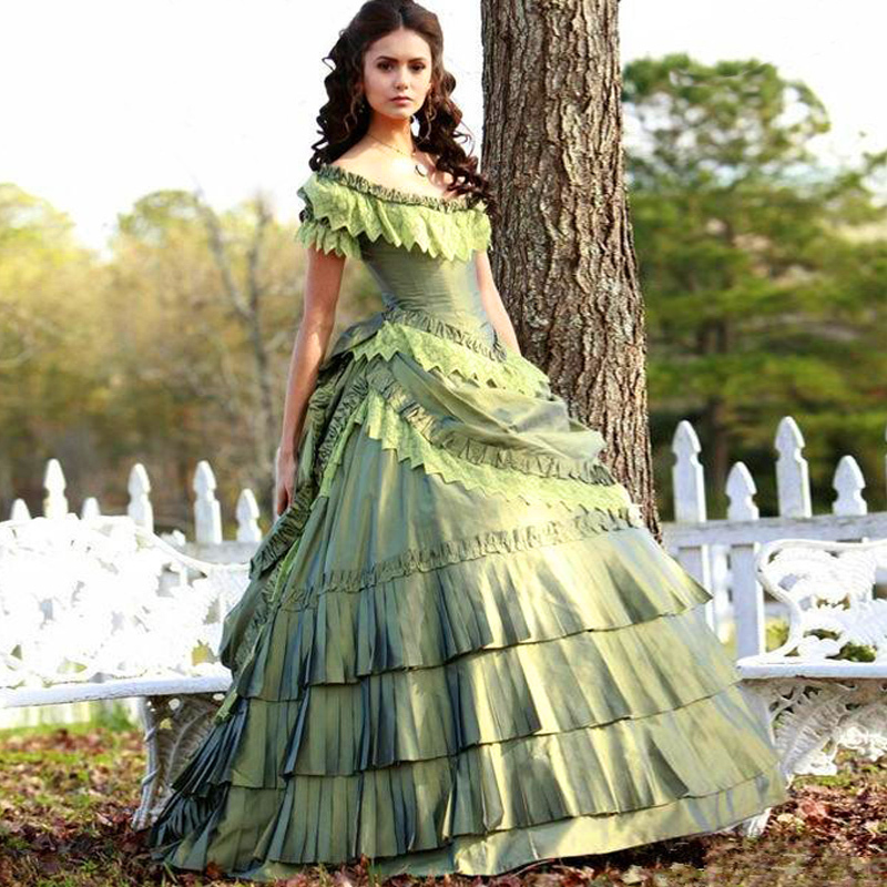 Aliexpress.com : Buy Victorian Gothic Wedding Dress Off Shoulder ...