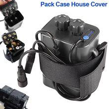 Hot 6 sekcji 18650 wodoodporna obudowa baterii 18650 baterii Pack 5VUSB/8.4VDC podwójny interfejs 18650 wodoodporna bateria na dom