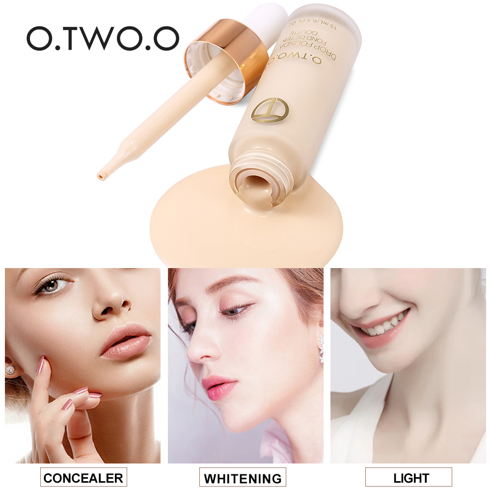 O.TWO.O Brand Profession 1 PCS Liquid Foundation Makeup ...