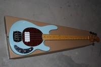Новый Басс гитара Music Man Stingray 4 струны для бас гитары светло зеленый музыкальная бас гитара Бесплатная доставка 11 12 M