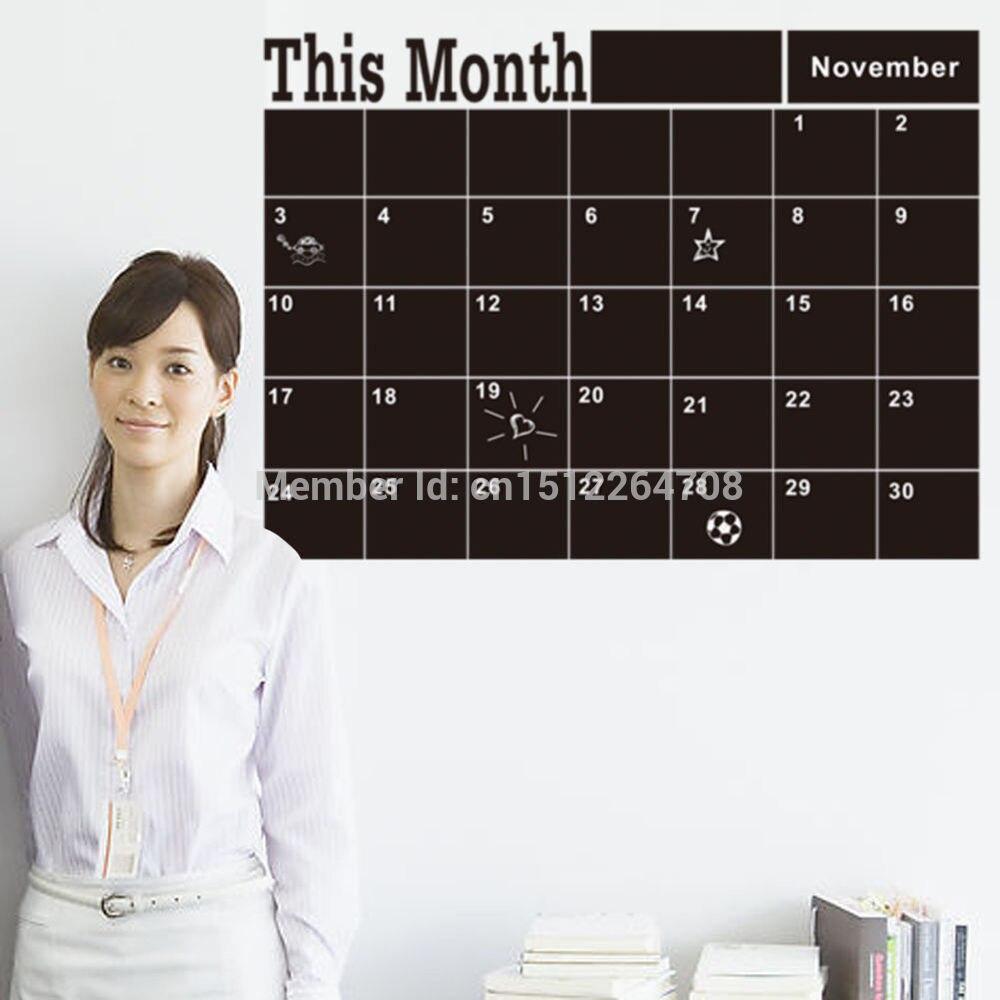 Parete lavagna calendario promozione fai spesa di articoli in ...