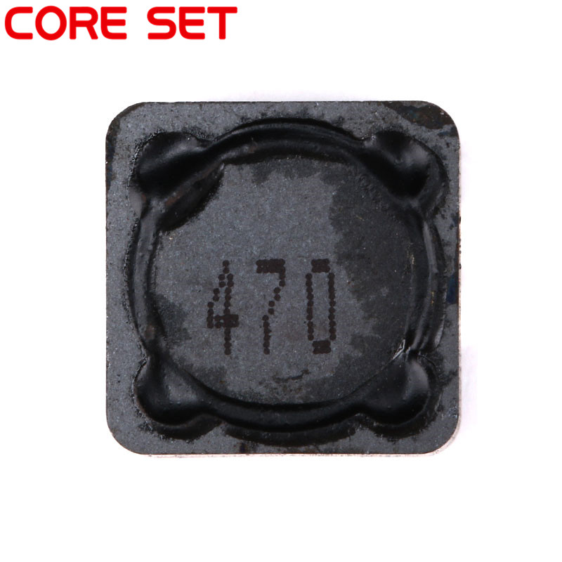 10pcs/lot Shielded Inductor SMD Power Inductors 12*12*7MM 47uH 470 High Quality CDRH127R