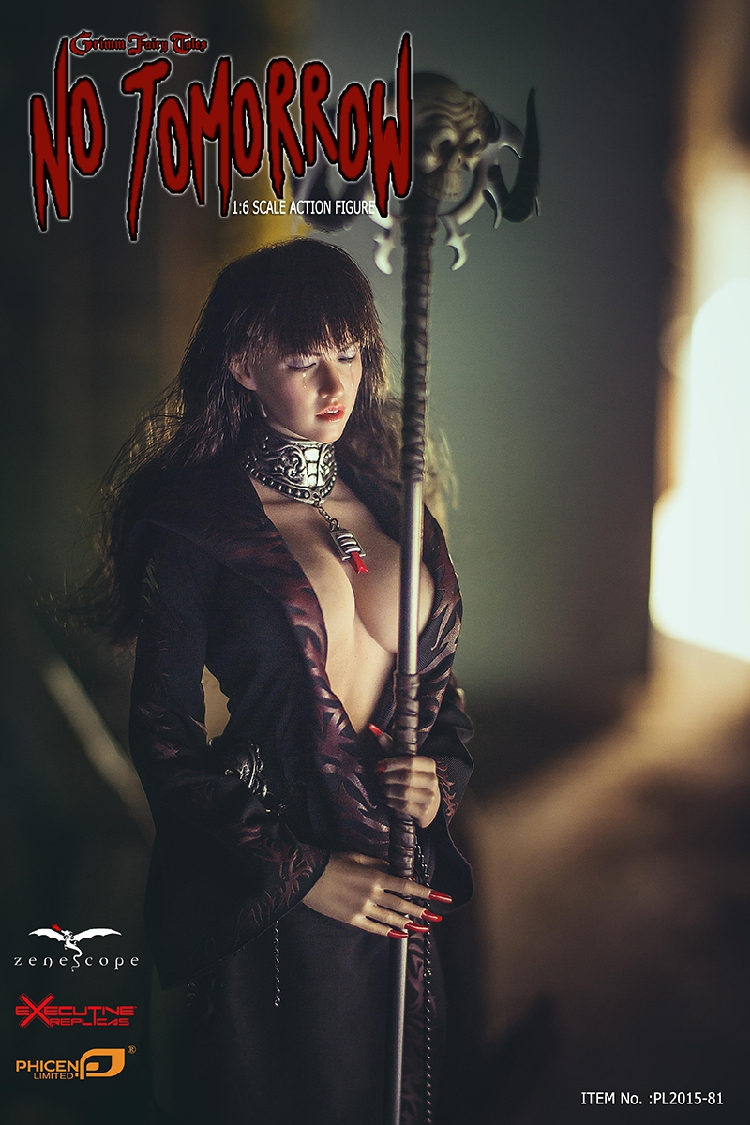 1/6 Grimm Fairy Tales No Tomorrow Sexy Action Figure PL2016-81 Collectible Death Figurines In stock  grimm s грузовик мини синий с 1 года