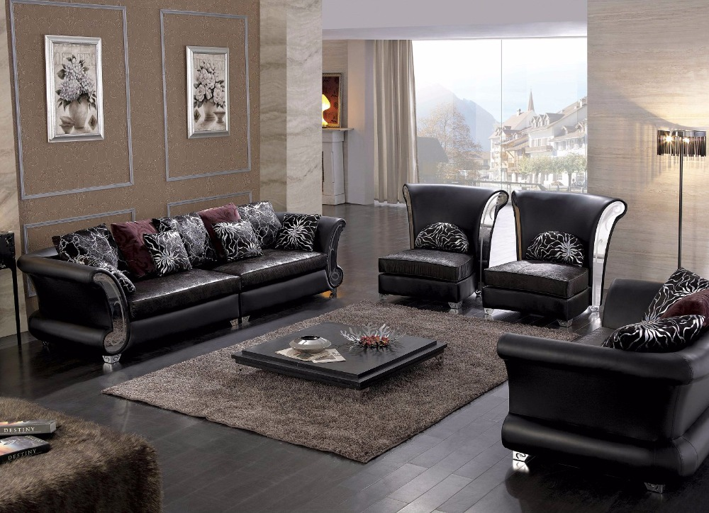 Living Room Furniture Sets 2016 online buy wholesale leather corner sofa for sale from china