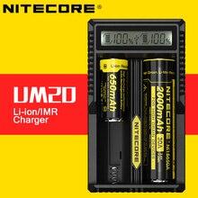 Digital de Lítio Bateria com Tela LCD para 17500 Original Intellicharger Nitecore Um20 USB Carregador de 18650 16340 14500 Bateria