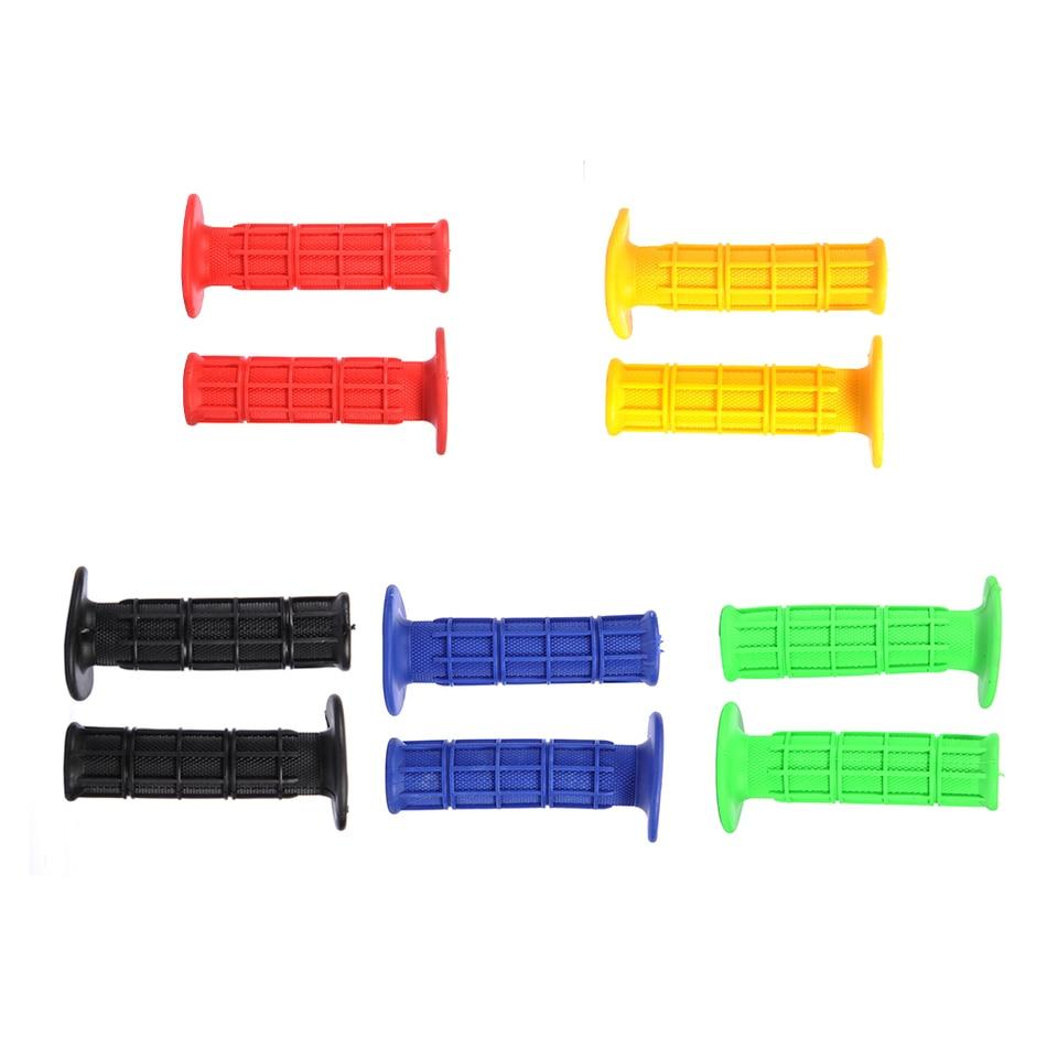 CRF 용 5 색 젤 고무 핸들 바늘 YZF WRF KXF KLX KTM RMZ - 오토바이 액세서리 및 부품