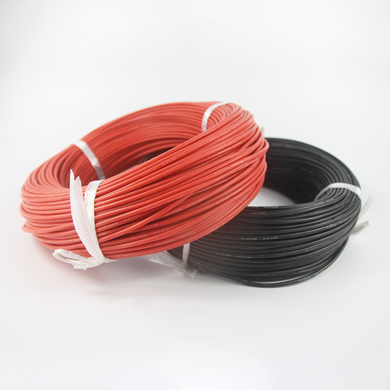 100m 14 AWG Gauge Silicone Wire Flexible Stranded Copper Cables ...