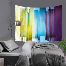 Abstract Minimalist Geometric Fabric Prints Large Rectangle Polyester Wall Tapestry Decor Cloth Tapestries Home Decorative LZC23