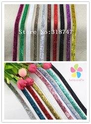 Multi color option 9yards 10 yards 3 8 10mm glitter velvet ribbons d040006001.jpg 250x250