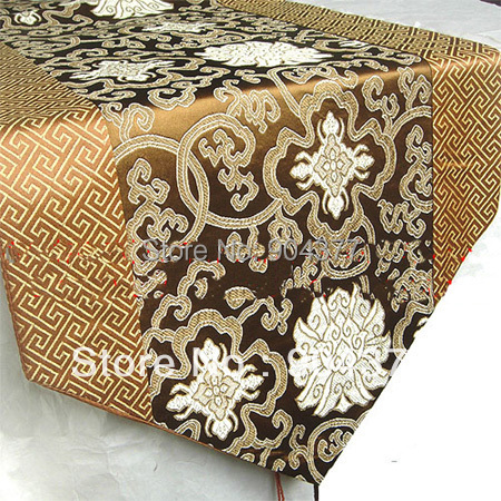 Cheap Chinese Style Patchwork Table Runners Silk Rectangle Coffee Tablecloth  For Weddings Christmas Party Dining Room Decoration In Table Runners From  Home ... Part 70