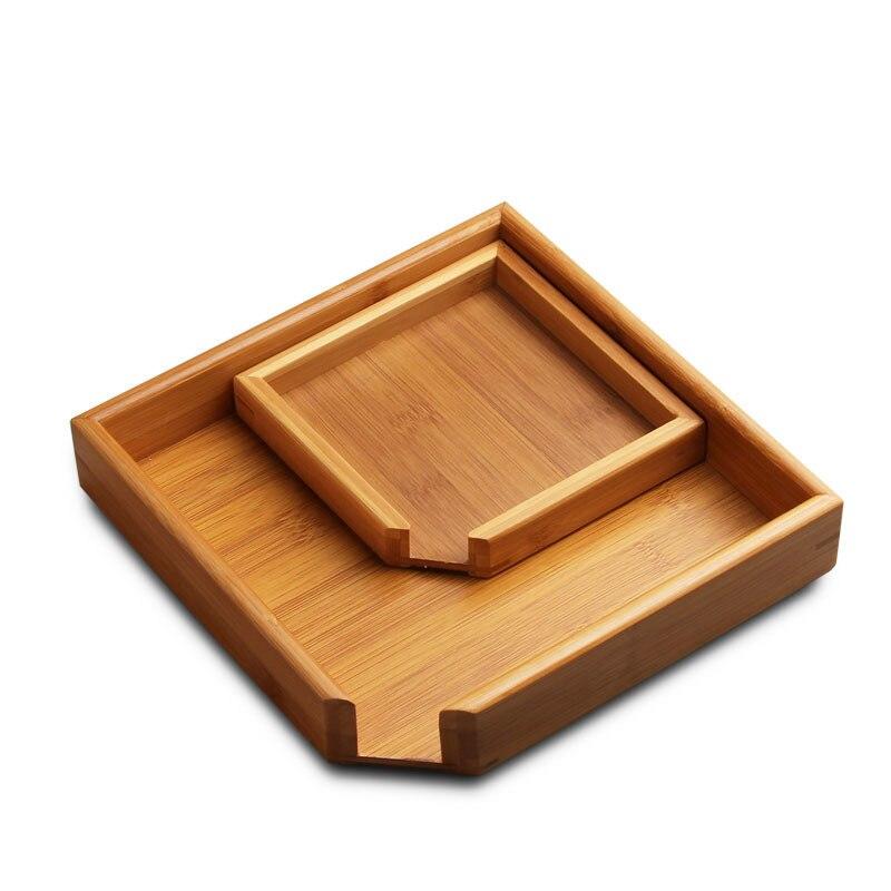 Rectangular Bamboo Tea Tray 5