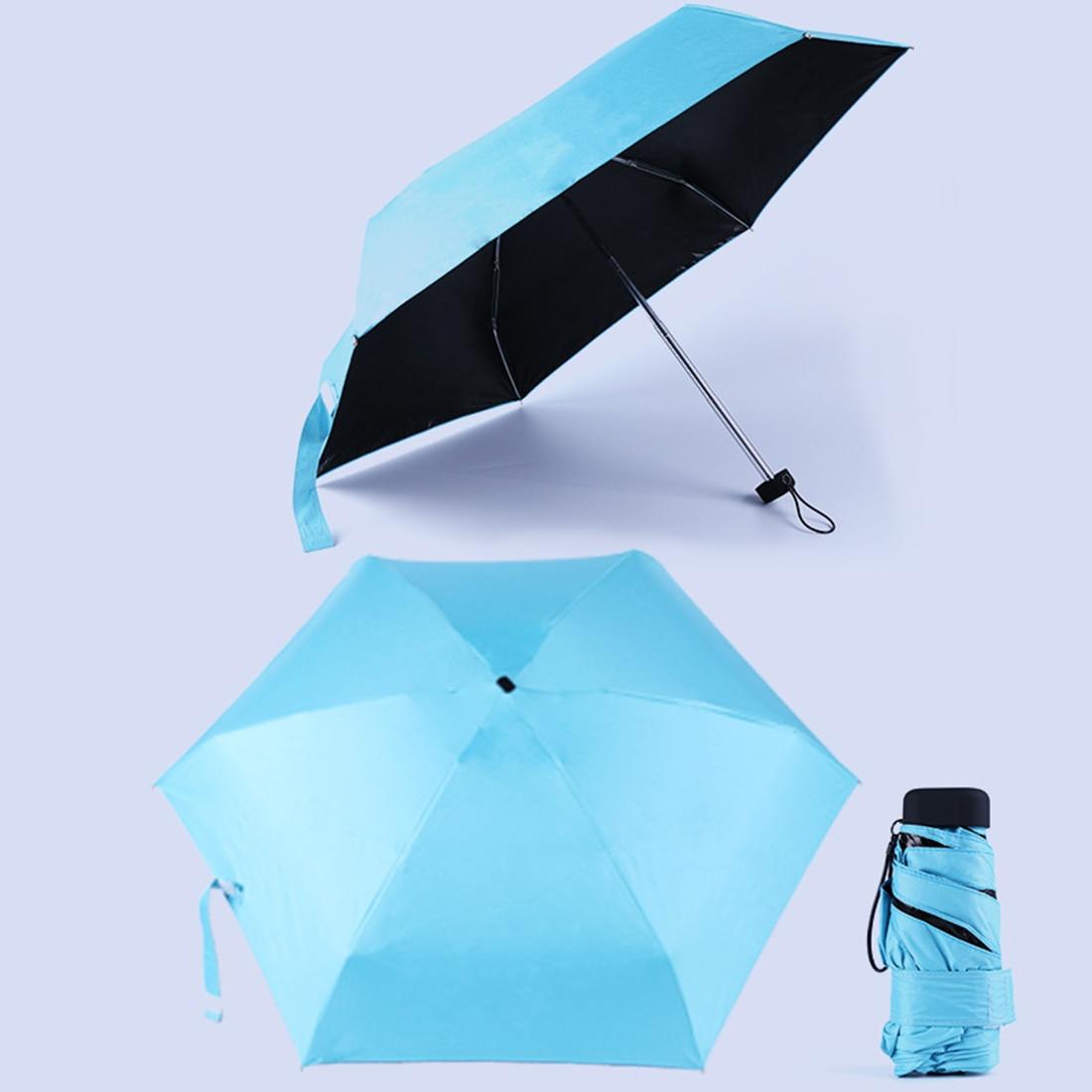 d8a2d87f785e US $7.4 16% OFF|Mini Pocket Umbrella Women Sunny and Rainy Mini Folding  Umbrellas 200g Small Sun Parasol Umbrella-in Umbrellas from Home & Garden  on ...