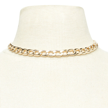 Chain Link Choker Womens
