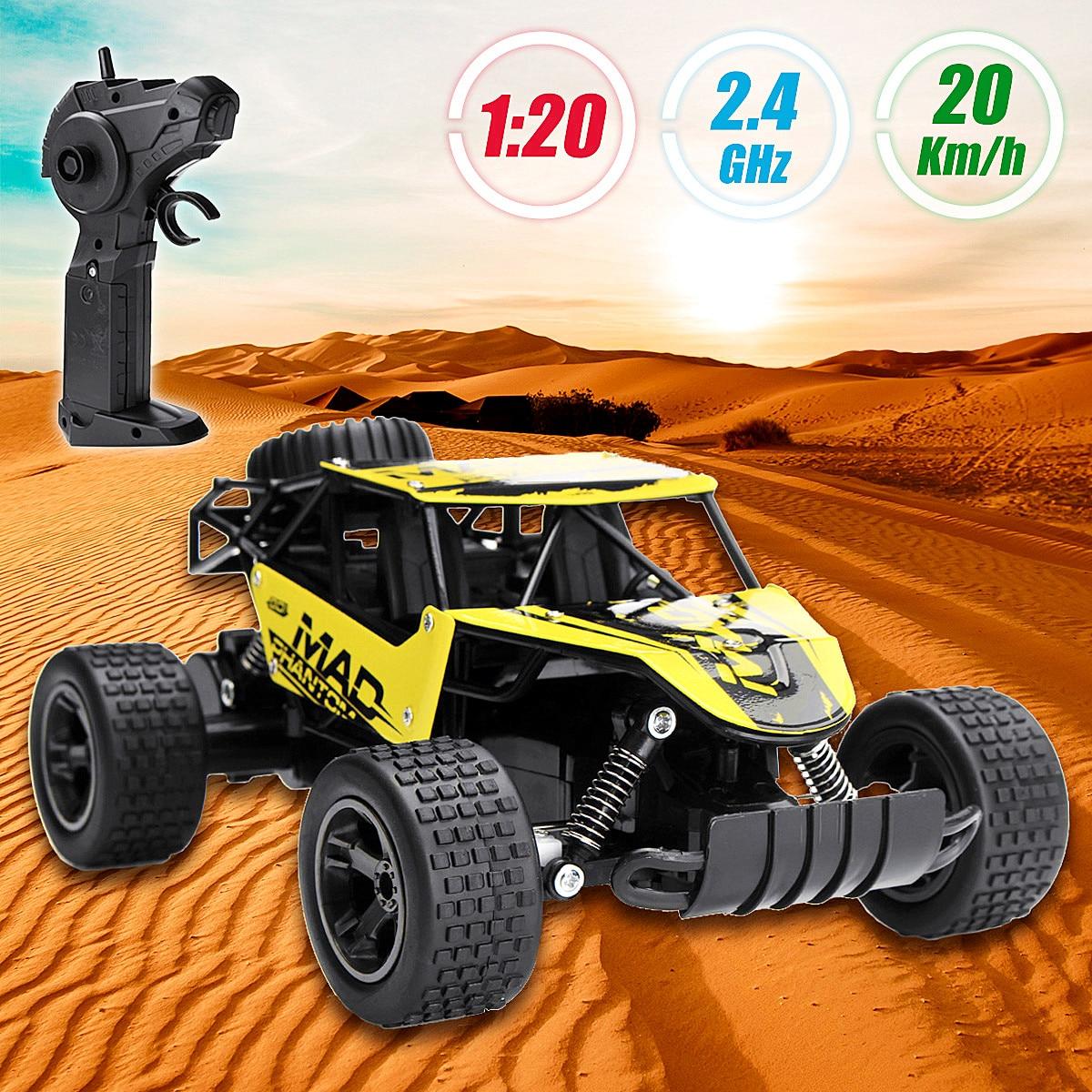 1:20 High Speed 2.4Ghz Remote Control Rock Crawler Racing