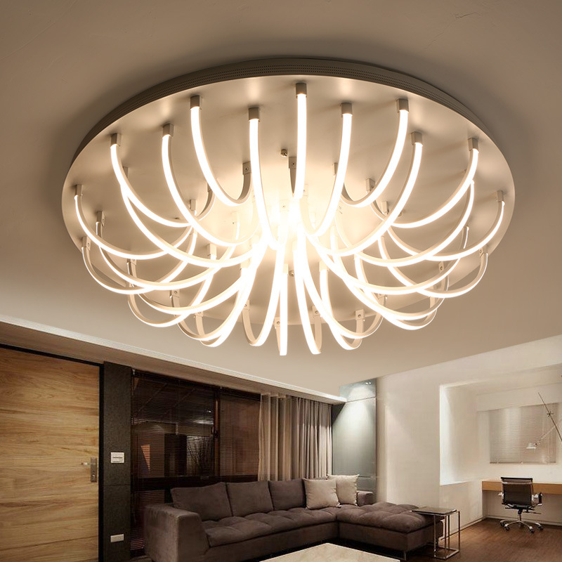 Lights & Lighting Living Room Bedroom Led Ceiling Lights Modern 150w Kitchen Lamps Las Luces Del Techo Led Ceiling Lighting Fixtures Plafondlamp Regular Tea Drinking Improves Your Health