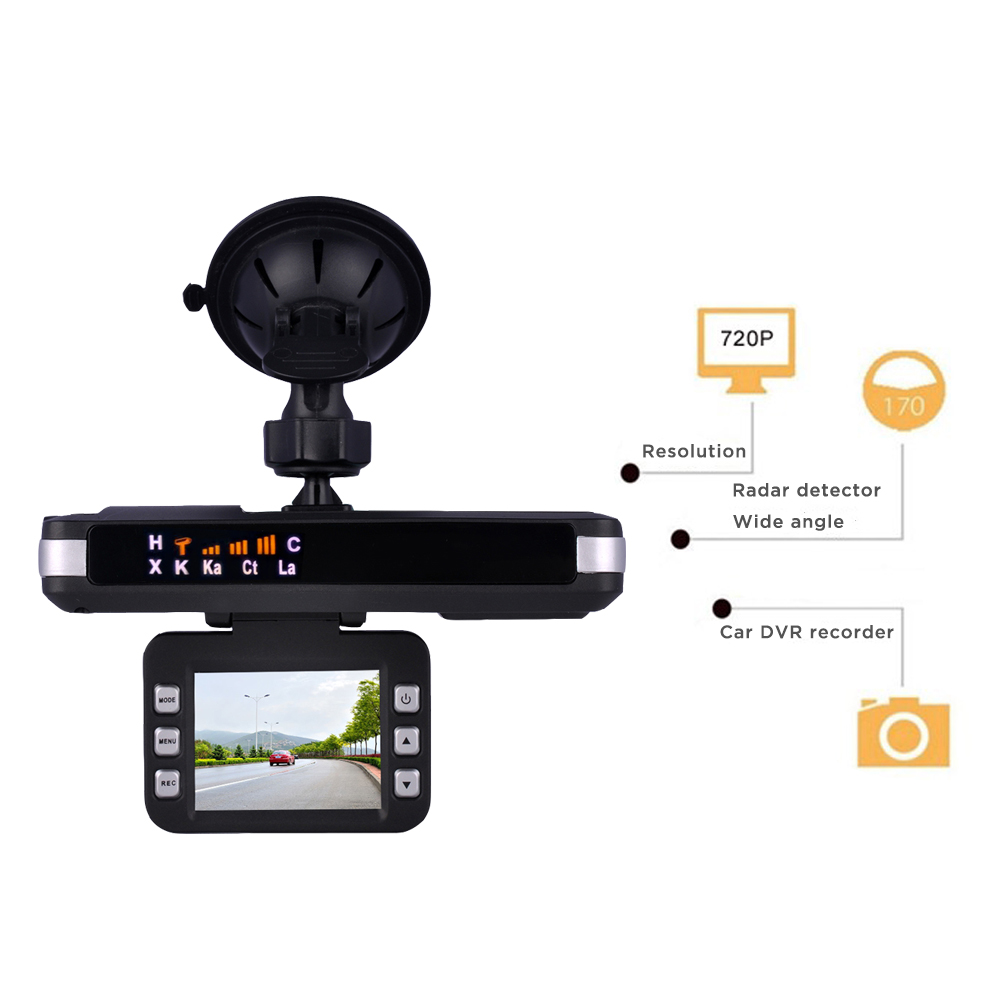 Luturadar Upgraded Car dvr dash font b camera b font Radar Detector Anti Police mobile Speed