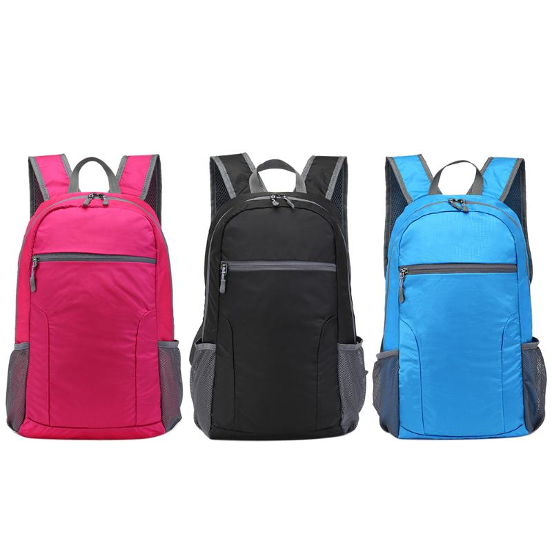 25L Waterproof Packable Backpack Handbag Handy Lightweight Foldable Outdoor Camping Hiking Travel Daypack Male Female Sports Bag ultra lightweight packable backpack water resistant daypack small backpack handy foldable backpack double shoulder bag