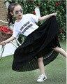 Детская Одежда Туту Pettiskirt Танец Носить Юбки Для Девочек Сплошные Цвета Цветочные Прекрасные Летние Девочки Юбка