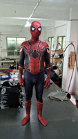 Spiderman Costume Red Black Spider Man Suit Spider Man Costumes Adults Kids Spider Man Cosplay Clothing