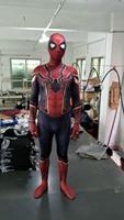 Spiderman Costume Red Black Spider Man Suit Spider Man Costumes Adults Kids Spider Man Cosplay Clothing