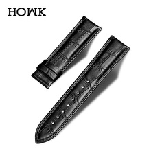 Watch Band Genuine Leather straps 18mm 20mm 22mm 24mm watch accessories men High Quality Watchbands