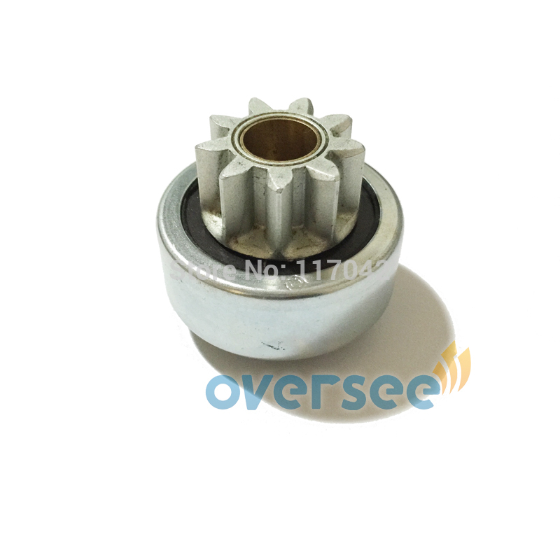 OVERSEE 6N7-81807-00 Starter Drive Gear for Yamaha Outboard Motor 150HP 200HP Motor Model 6N7