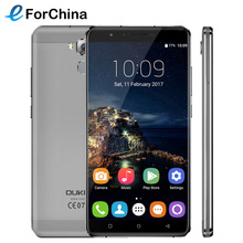 Oukitel U16 Max Android 7.0 MTK6753 Octa Core Smartphone 3G RAM 32G ROM 6.0″ Mobile Phone Fingerprint Touch ID 4000mAh Cellphone
