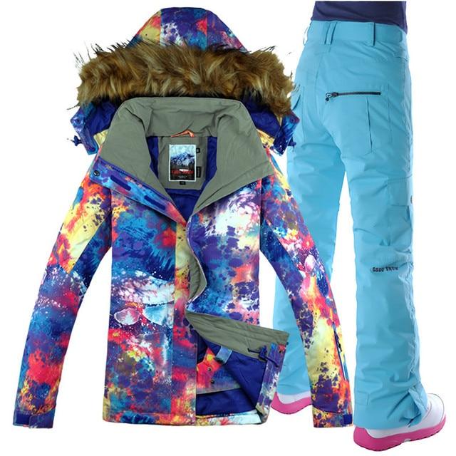 b1e0789c2 Gsou Snow Ski Suit Women