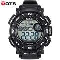 OTS 7000G Relógio Digital À Prova D' Água Para Caminhadas Ao Ar Livre Esportes dos homens Relógio