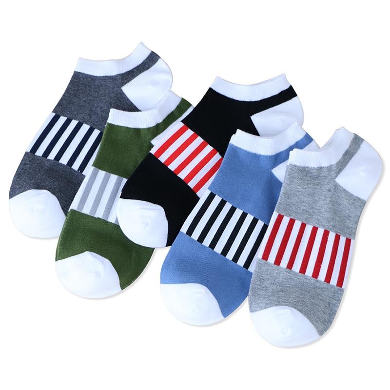 Socks men short A45 summer socks solid quality cotton socks men regular thickness