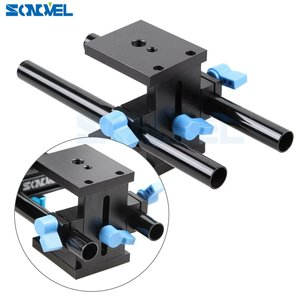 Image 2 - Sonovel คุณภาพสูง 15mm Rail Rod Support System Baseplate Mount สำหรับ Canon DSLR Follow Focus RIG 5D2 5D 5D3 7D