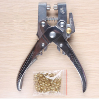 2 In 1 Eyelet Plier For Jewelry Canvas Clothes Leather Setting Rivets Crimpping Pliers Tool Shoe