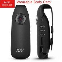 IDV007 Full HD 1080P Mini DV Camera Dash Cam Wearable Body Bike H.264 Mini Camcorder Protable Recording Pen pk IDV009 T189 SQ11