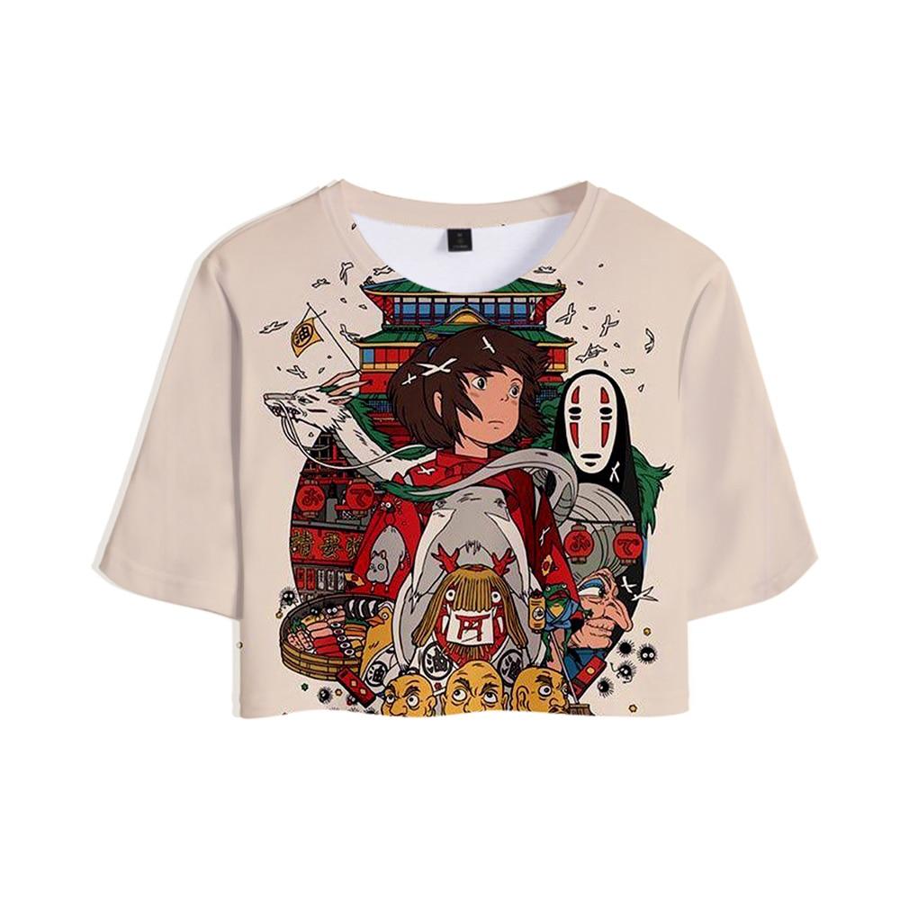 Hayao Miyazaki Spirited Away Cool Design T-Shirts