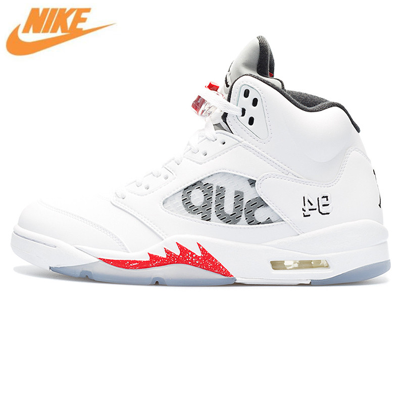 uk availability cad73 64104 Nike Air Jordan 5 Retro Supreme