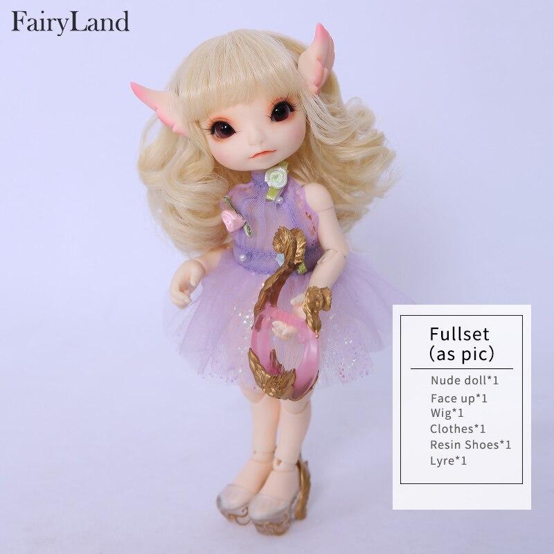 Image 4 - Кукла сказочная RealFee Haru BJD, модель 1/7, игрушки для  мальчиков и девочек, кукольный домик, силиконовая резина, мебель для  анимеreborn girlbjd dolls fairylanddoll fairyland