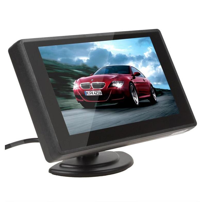 XYCING 4.3 Inch TFT LCD Avtomobil Monitor Avtomobil Arxa Baxış - Avtomobil elektronikası - Fotoqrafiya 2