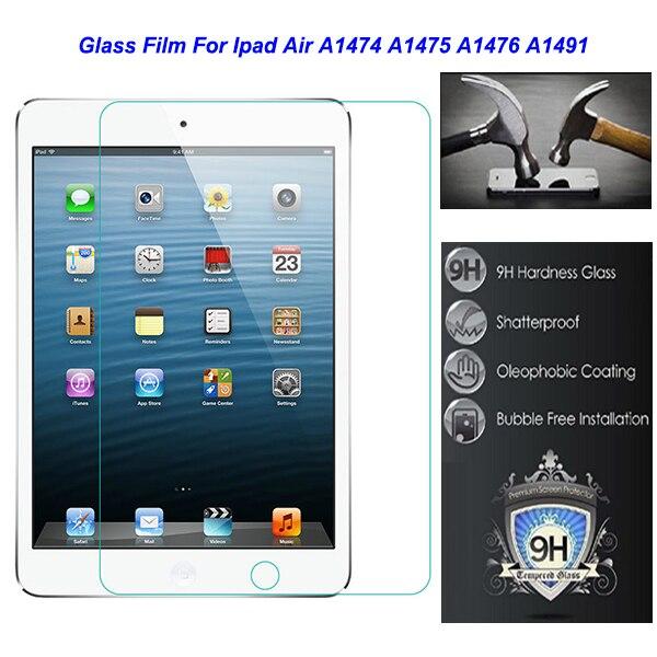 """imágenes para Para Apple Ipad Ipad5 aire 5 A1474 A1475 A1476 A1491 Seguridad 9.7 """"0.3mm Templado Película Protectora De Vidrio en Tablet"""